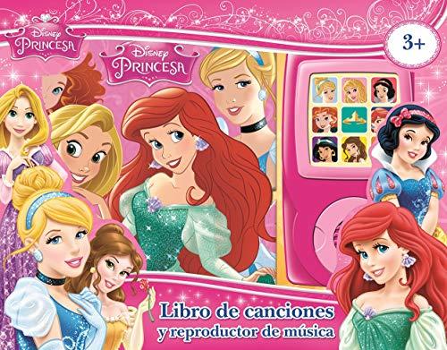 Disney Princesa - Melodías de Princesas - Libro de cancionel y reproductor de musica - Princess Melodies Sound Book with Music Player - PI Kids (Spanish Edition) (Espanol En De Libros Musica)