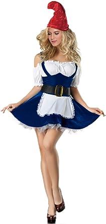 Amazon.com: Disfraz de gnomo disfraz – Halloween Sexy gnomo ...