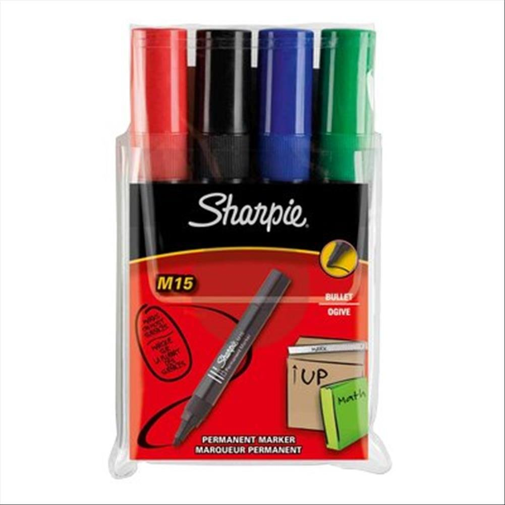 Marcatore permanente Sharpie M15 Papermate - tonda - nero - 1, 8 mm - S0192584 (conf.12) Newell Rubbermaid