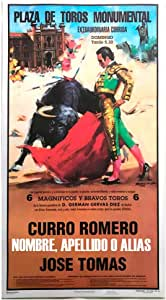 Cartel de toros con un nombre personalizable - C. Rincón/El Juli: Amazon.es: Juguetes y juegos