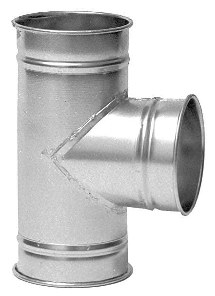 Nordfab Duct Tee Fitting, 8 In - 3227-0808-108000 - - Amazon com
