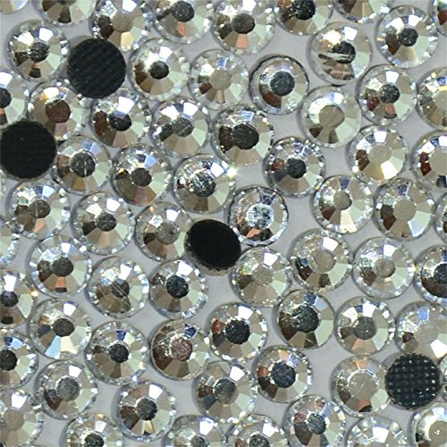 1440pcs Ss10 About 3mm Dmc Iron on Hot Fix Crystal Rhinestones Diamond Gems Wholesale (clear)