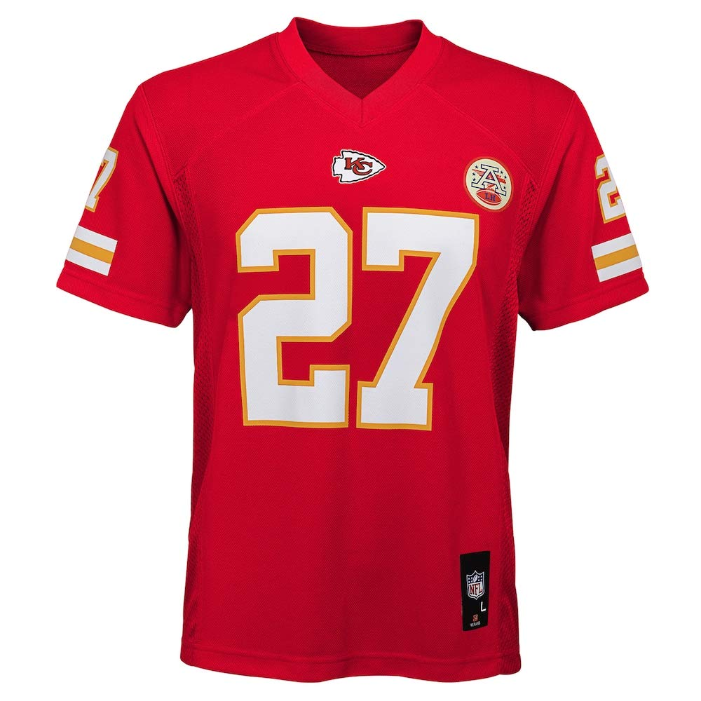 Outerstuff Kareem Hunt Kansas City Chiefs NFL Toddler 2-4 Red Home Mid-Tier Jersey