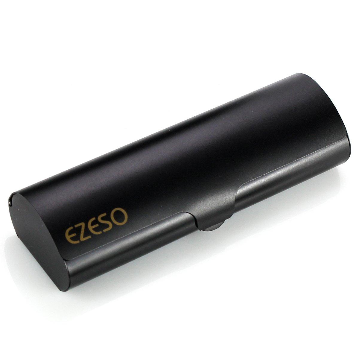 EZESO Glasses Case Hard Slim Light Mens Spectacles Case for Small Eyewear Frame