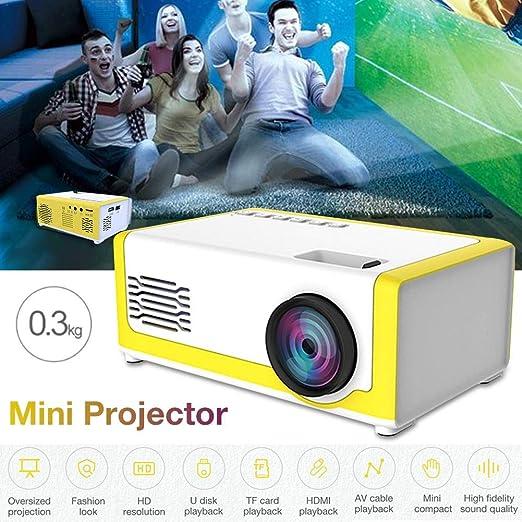 iBàste - Mini proyector para niños (inalámbrico, portátil ...