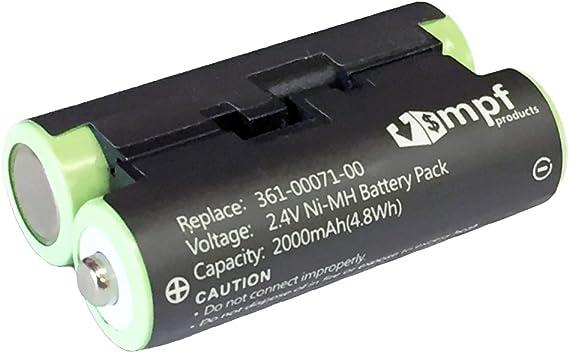 Replacement Battery for Garmin Striker 4 Oregon 600 Oregon 650 010-11874-00 010-01550-00 Astro 320 Handheld Astro 430 Handheld Oregon 600t Oregon 650t Striker 4 Fishfinder