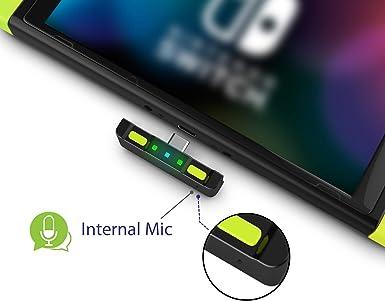 Adaptador de transmisor de Audio Bluetooth para Nintendo Switch ...