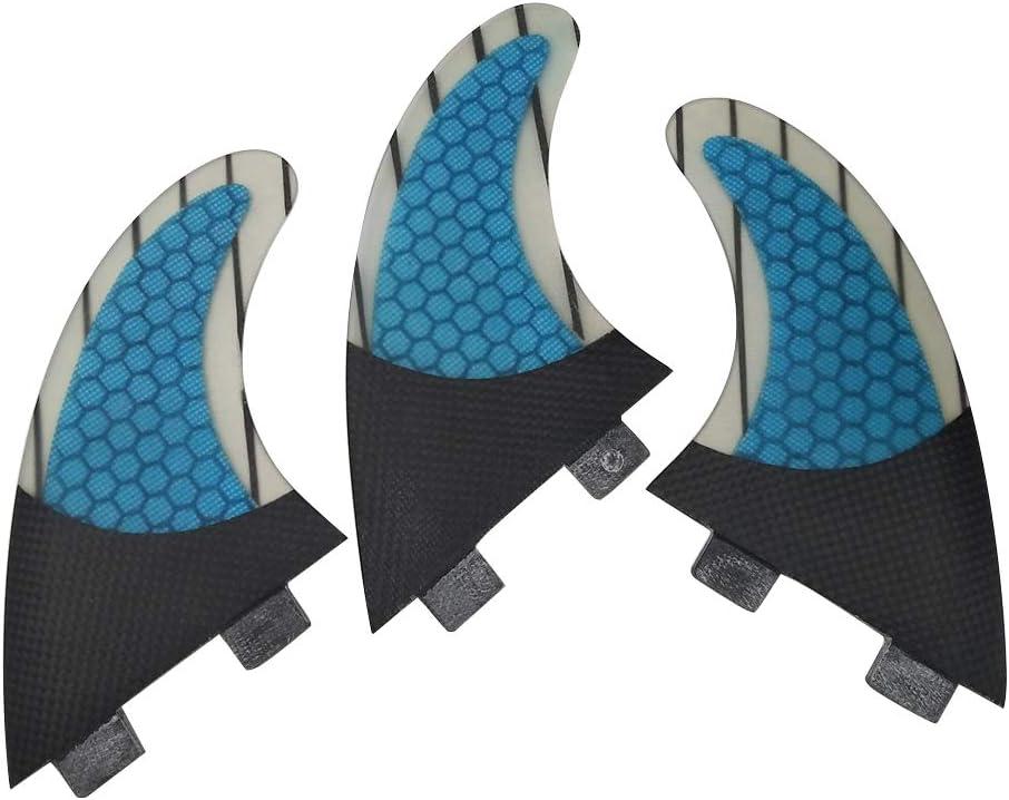 UPSURF FCS Tri Fin Thruster Set Carbon