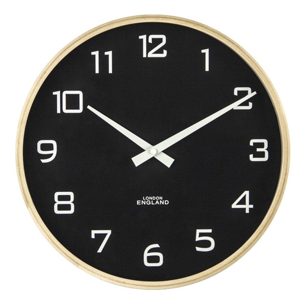 AODISHA 木の穀物の壁時計、居間のレストランベッドルームバーの壁時計花屋茶店ソリッドウッドの壁時計の直径30-35.5CM より多くの装飾を取る (色 : C-30*30*4CM) B07DZWTR6S C-30*30*4CM C-30*30*4CM