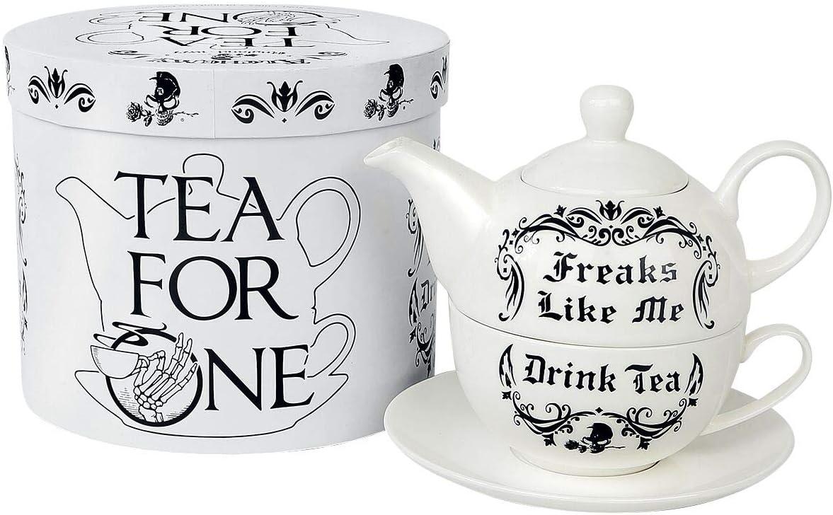 Alchemy Untersetzer Freaks Like Me Drink Tea Gothic Keramikuntersetzer Deko