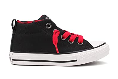 bbe4accbbc85a6 Converse Boys Plaid Pack Black Black Red - 5
