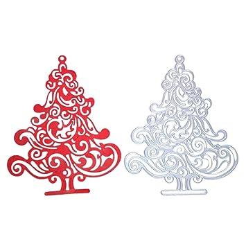 Christmas Tree Metal Cutting Dies Stencil Scrapbooking Photo Album Paper Card TW