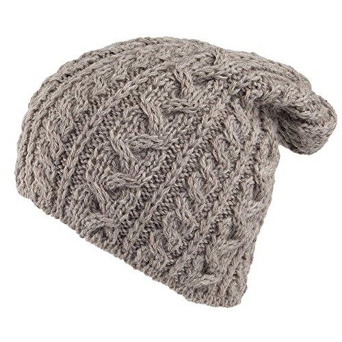 de inglesa lana tejido 2000 de Avena Highland Village Gorro Hats Oversized Avena nqx0OwqYXR