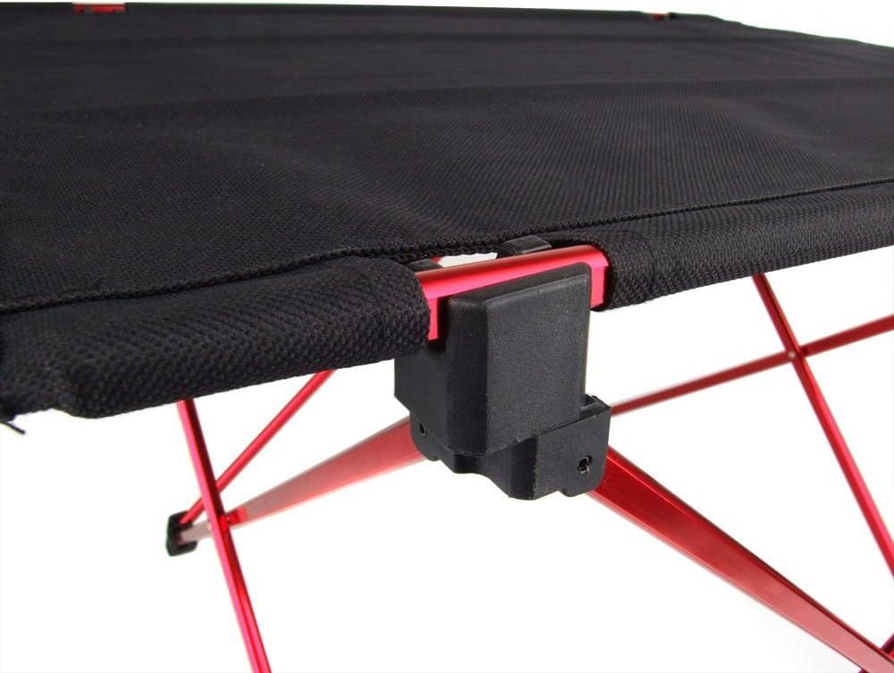 Dcolor Portable Foldable Folding Table Desk Camping Outdoor Picnic 6061 Aluminium Alloy Ultra-light