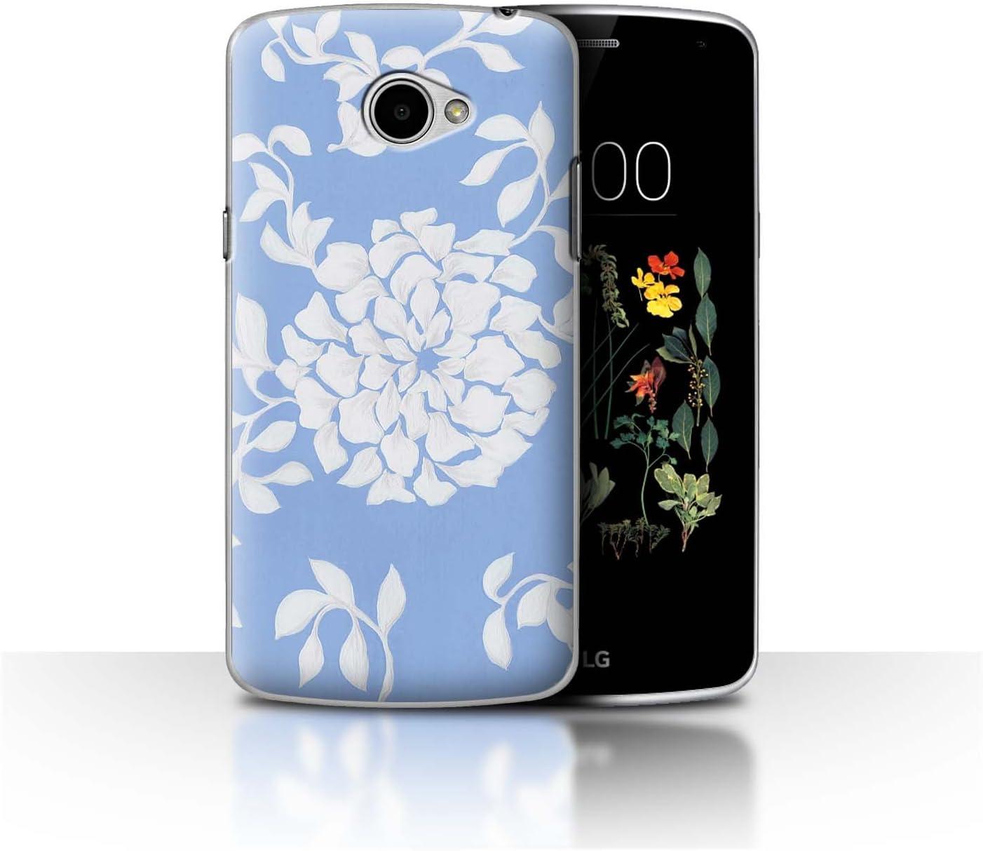 Stuff4® Phone Case/Cover/Skin/LG-CC/bluefshn Collection Fiore ...
