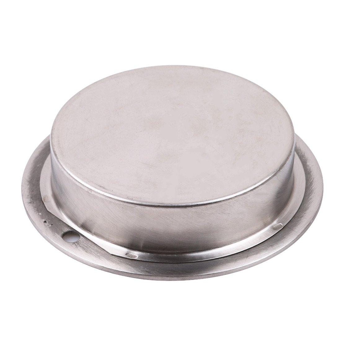VWH En Acier Inoxydable Poign/ée de Porte Flush Encastr/é Tirer Ovale Mat/ériel Tiroir Pour Outils /à La Maison Demi-cercle