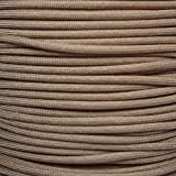 Mil Spec Type III 550 Paracord - 7 Strand Core - Desert Tan - Nylon Commercial Grade, Parachute Cord, Survival Cord - 10 Ft Hank