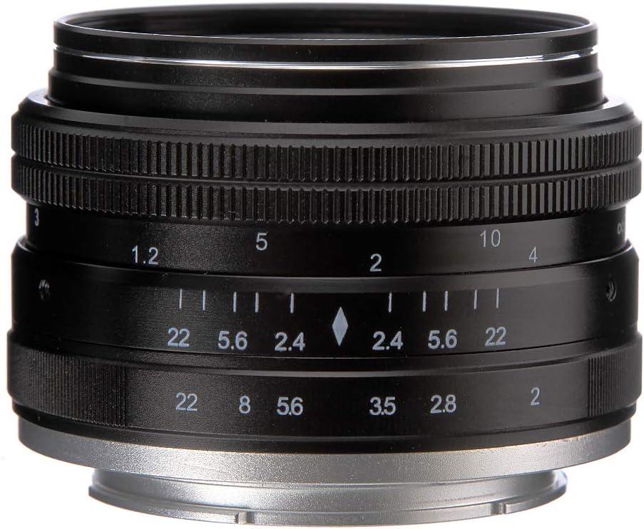 50mm F 2 0 Große Blende Mf Manueller Fokus Objektiv Für Elektronik