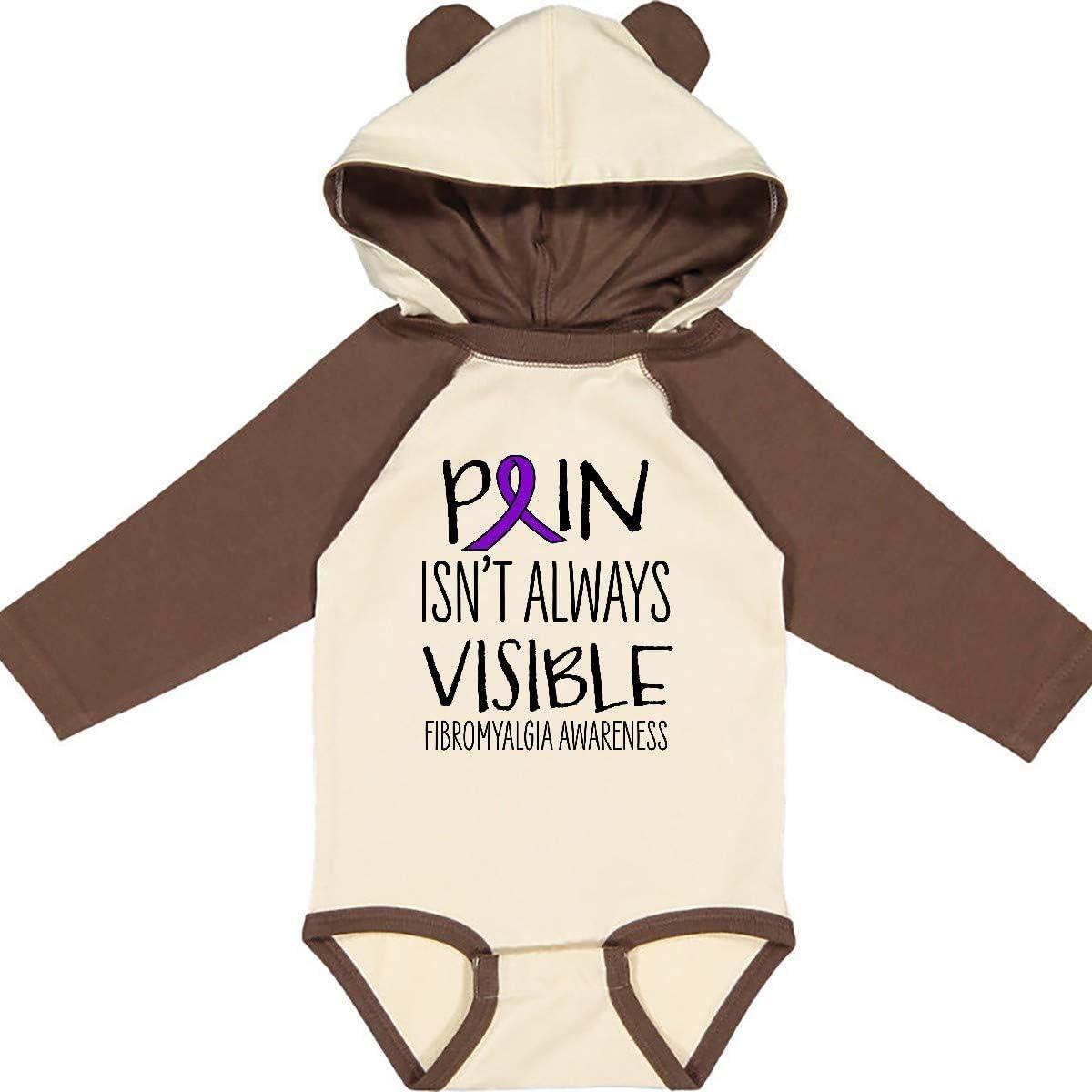 inktastic Fibromyalgia Awareness Pain Isnt Always Visible Long Sleeve Creeper