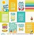Pebbles Fun In The Sun Summer Days Summer Scrapbook Paper