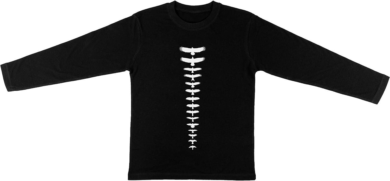 Reino Unido Aves De Presa - Negro Niños Unisexo Chicos Chicas Negro Camiseta Manga Larga Kids Unisex T-Shirt Long Sleeve: Amazon.es: Ropa y accesorios