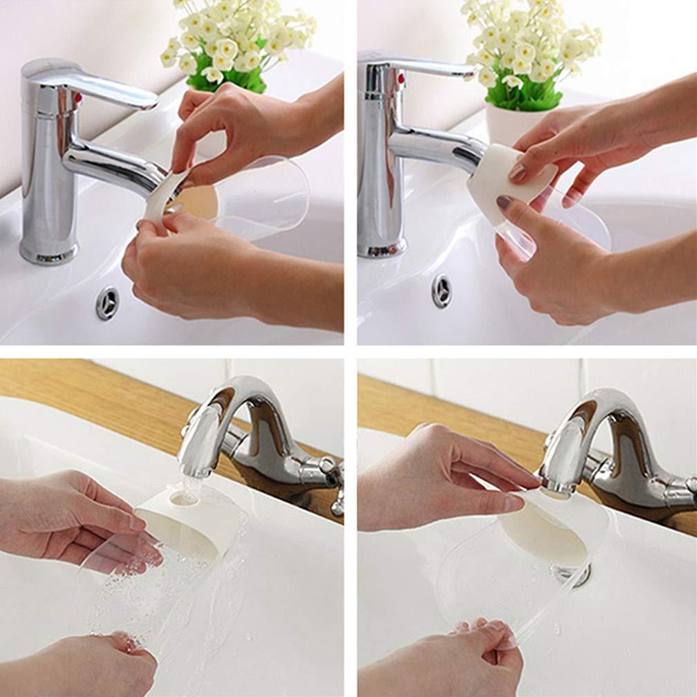 Safe to Rinse Your Babys Hands and No More Water-adverse 2 Pack Faucet Extender Sink Handle Extender for Babies Toddlers Kids