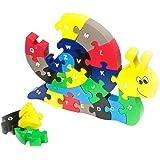 Small foot company 1992 - Puzzle En Bois - Escargot
