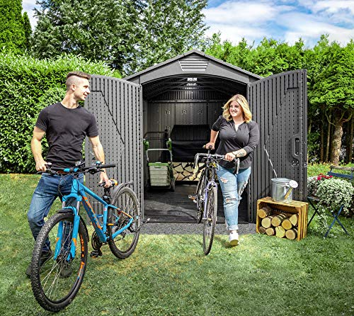 Lifetime Plastic Shed 7x9 review
