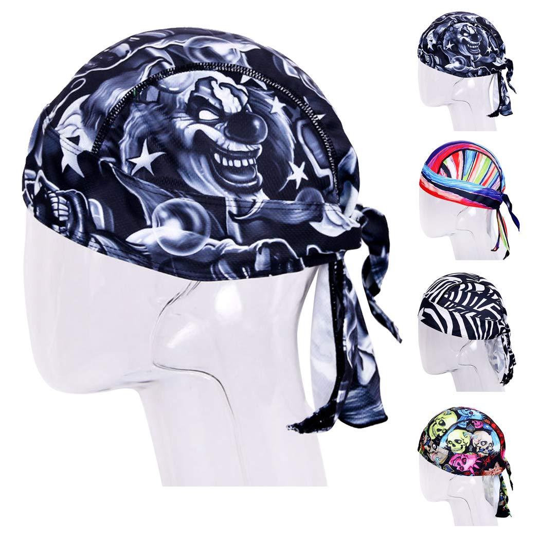 Fansport Cycling Head Wrap Atmungsaktiver Unisex Helmeinlagen Bandana