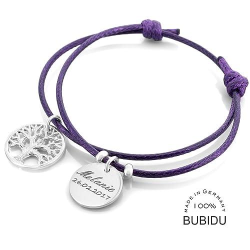 klar und unverwechselbar exquisiter Stil aktuelles Styling Armband Taufe 925 Silber mit Lebensbaum ❤ Schmuck mit ...