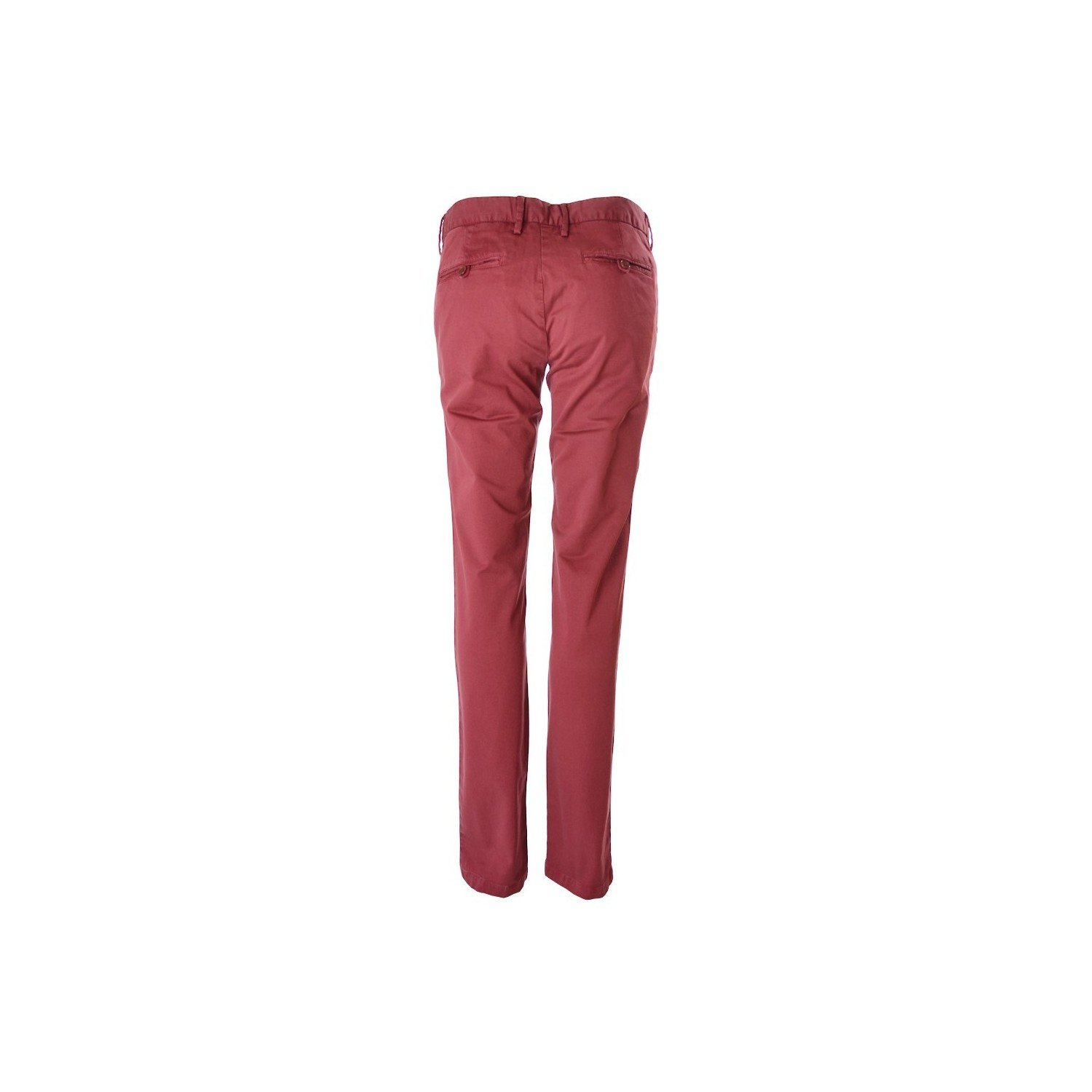 Amazon.com: GANT - Pantalon Chino Rouge Bordeaux Pour Femme ...