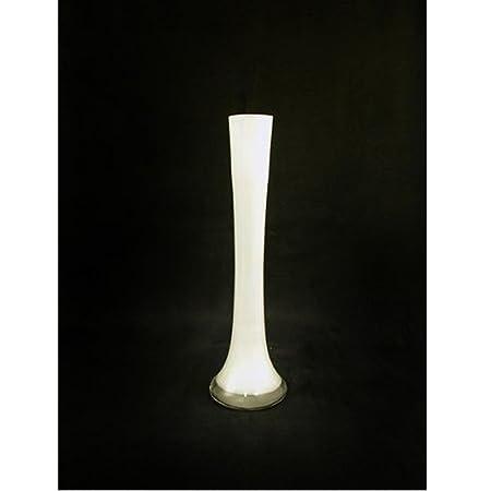 Glass Lily Vase White Amazon Kitchen Home