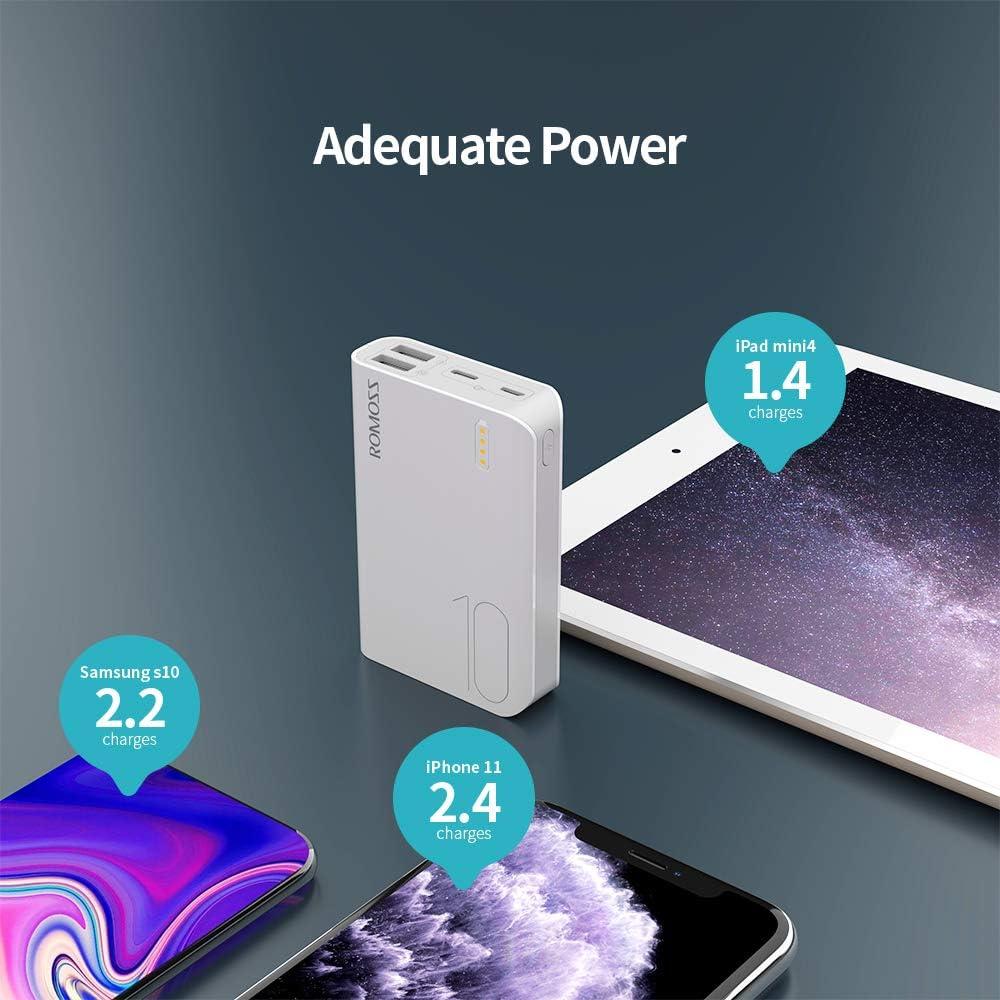 Batería externa Romoss de 10000mAh por sólo 9,99€ con el #código: AKG6LOGV