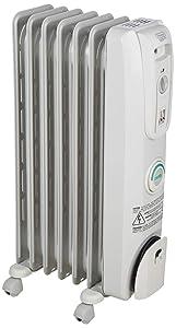 DeLonghi EW7707CM Safe Heat 1500W ComforTemp Portable Oil-Filled Radiator (Renewed)