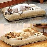 tinkertonk XL Puppy Pets Dog Cat Kitten Bed Cushion Pillow Nest Mat 100×65cm,100% Polyester