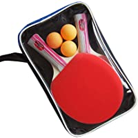 Raqueta de tenis de mesa profesional. Raqueta de tenis avanzada. Raqueta de tenis de mesa de tenis Pong Pong Paddle para el entretenimiento en el hogar 2PCS / Pack Tenis de mesa para escuela, Hogar
