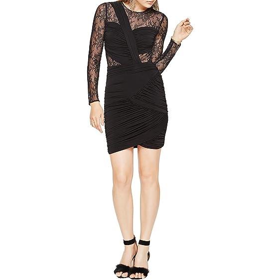 Amazon.com: BCBGMAXAZRIA BCBG Max Azria Womens Richelle Long Sleeve ...