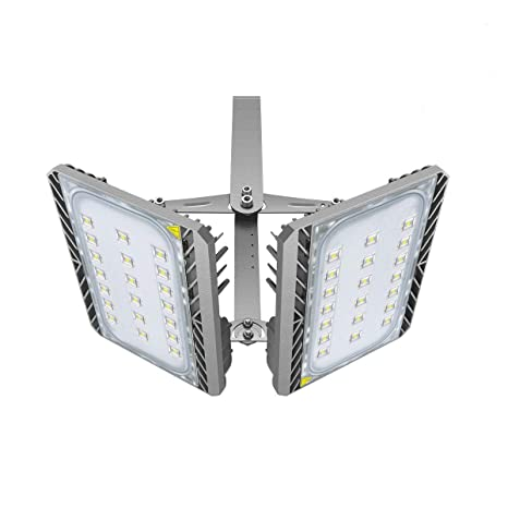 Led Flood Light Outdoor Stasun 200w 18000lm Led Security Lights With Wider Lighting Area 3000k Warm White Built With Cree Led Chips Waterproof