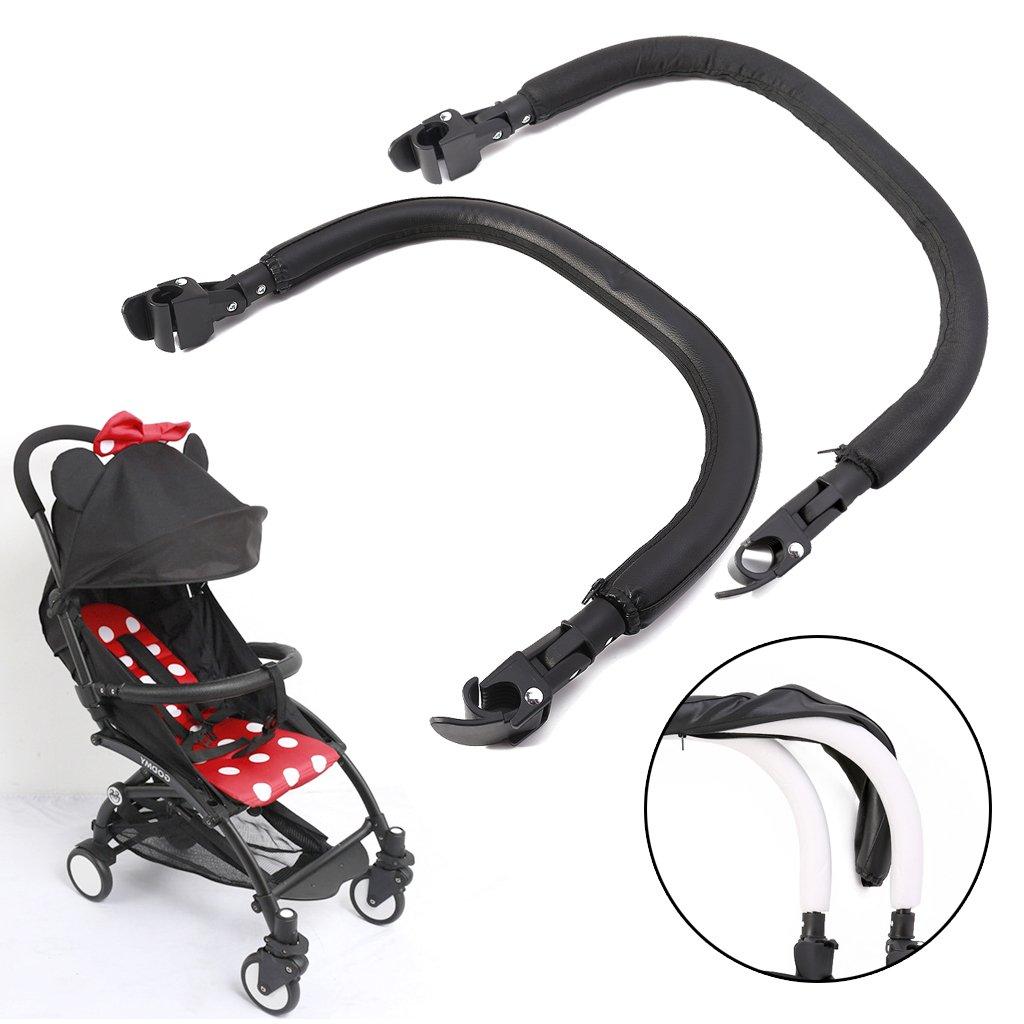 Shoresu Baby Yoya Stroller Accessories Yoyo Stroller Armrest Bumper Pushchairs Pram Part Leather