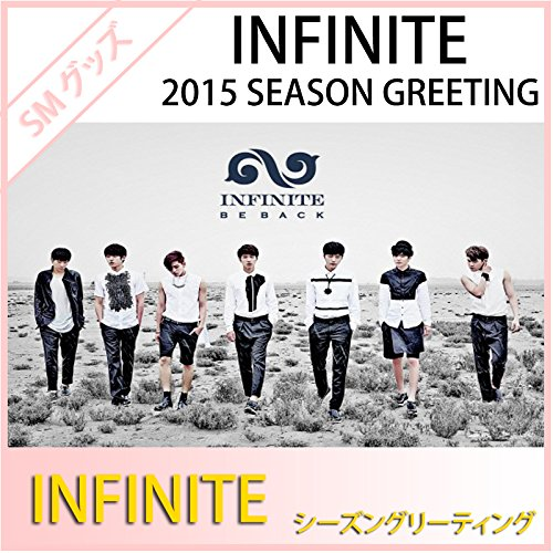 INFINITE 2015 Season Greeting with Desk Calendar /mini Calendar Scheduler /Making DVD [ Book sale now (released in Korea in mid-December)