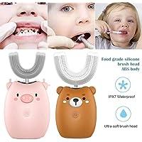 Juman634 Cepillo de Dientes eléctrico para niños
