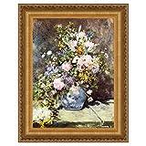 Design Toscano ''Vase of Flowers, 1886'' Canvas Replica Painting, Medium