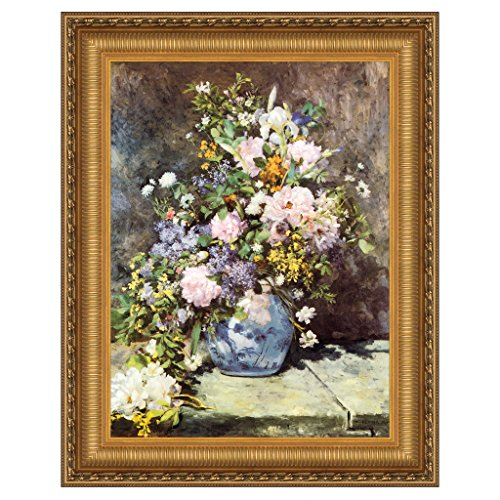 Design Toscano ''Vase of Flowers, 1886'' Canvas Replica Painting, Medium by Design Toscano