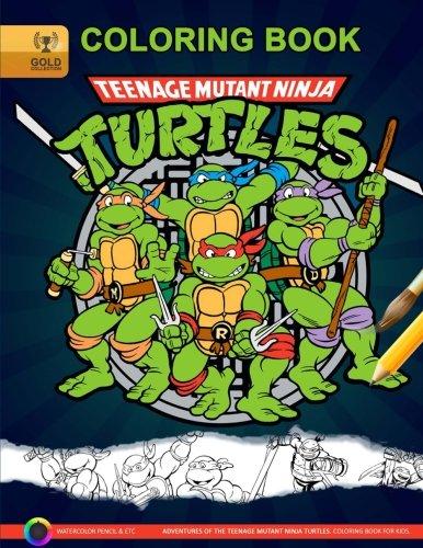 Teenage Mutant Ninja Turtles Coloring Book: Adventures of Teenage Mutant Ninja Turtles