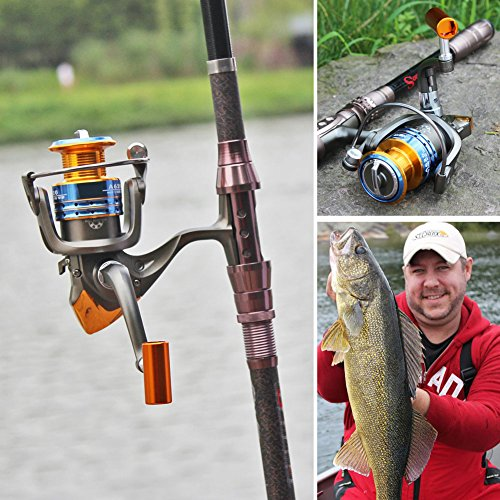 Sougayilang spinning fishing reel for saltwater freshwater for Freshwater fishing gear