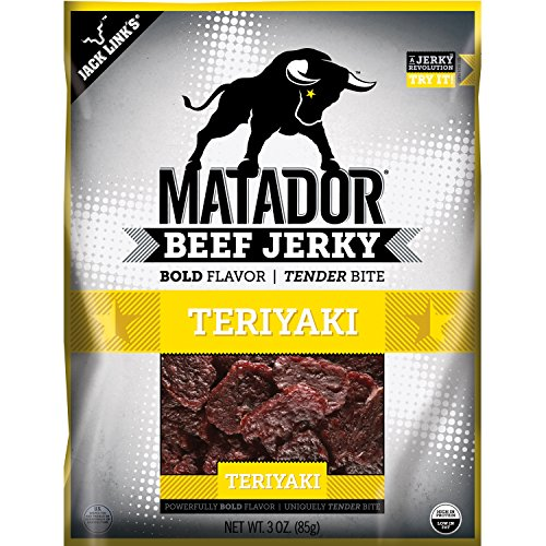 Naked Cow (Matador Meat Snacks, Teriyaki, 3 Ounce)