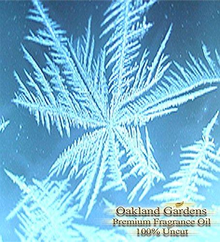 FROSTED SNOWDROPS Fragrance Oil - A crisp fresh whisper of festive spirit - By Oakland Gardens