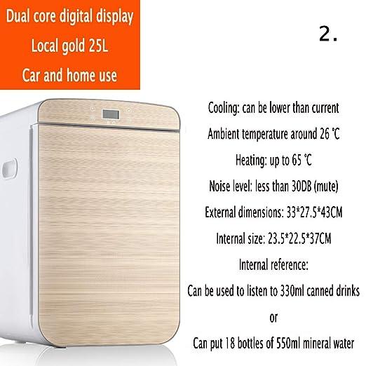YIWANGO 25L Mini Refrigerador BAJO Consumo Eficiente Y Silencioso ...
