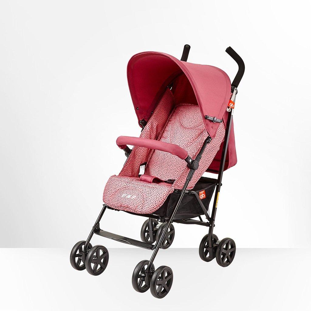 HAIZHEN マウンテンバイク ベビーカートは座ることができます/四季を縛る軽量の傘車赤ちゃんフォールドダンピングトロリーもっと調節可能な320mmの広げられた席ベビーキャリッジ51 * 79 * 105cm 新生児 B07DMNL8W7 1 1