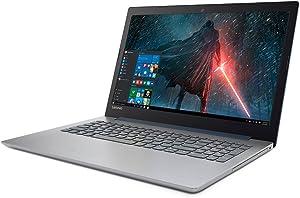 "2018 Newest Lenovo 320 Premium Business Flagship Laptop PC 15.6"" LED-Backlit Display Intel Celeron N3350 Procoessor 4GB DDR4 RAM 128GB SSD DVD-RW Bluetooth Webcam 802.11AC HDMI Windows 10-Black"